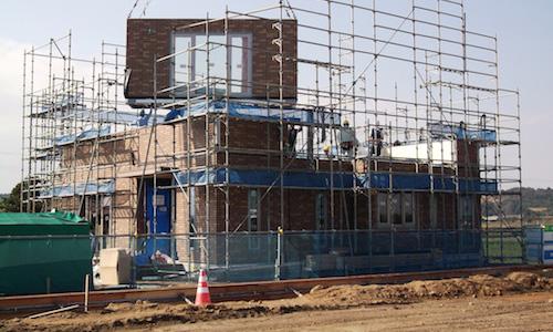 セキスイを住宅を中心とした建設工事